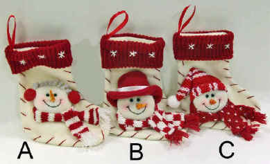 Mini Snowman Socks