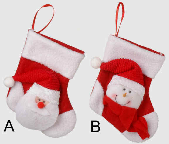 Mini Christmas Stockings On Sale White Mini Christmas Stocking