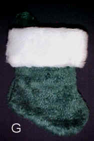 Green Small Stocking