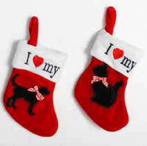Cat or Dog Mini Christmas Stockings