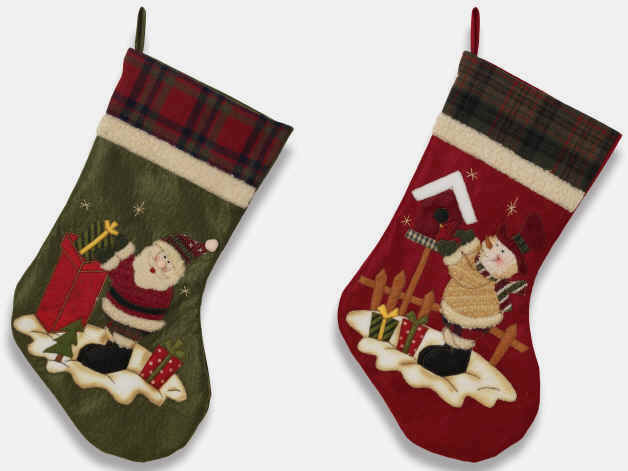 Cheap Plain Christmas Stockings