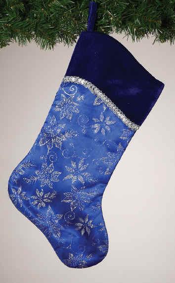 VELVET & Elegant Christmas Stockings ~ Sequins, Velvet, Silk, LACE