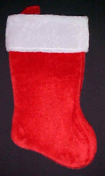 plush christmas stockings wholesale