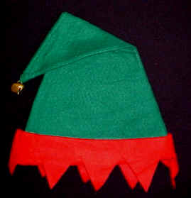 Elf Hats for Santa's Helpers